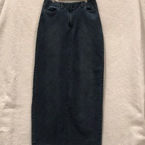 Mossimo Denim Skirt- 6